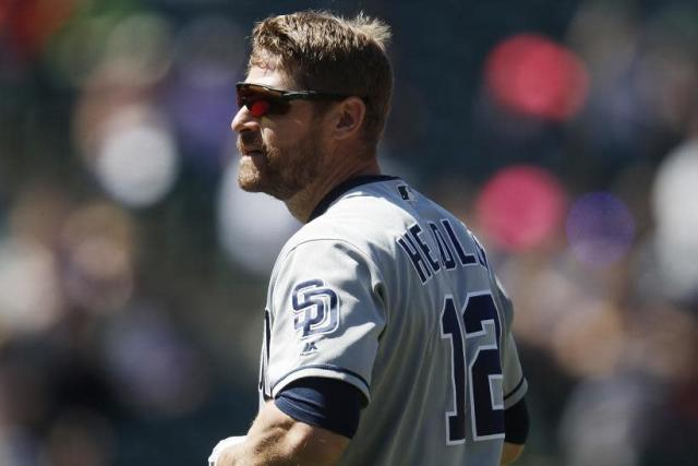 The San Diego Padres will likely eat the remainder of Chase Headley's #13 million salary after designating him for assignment on Saturday. (AP)