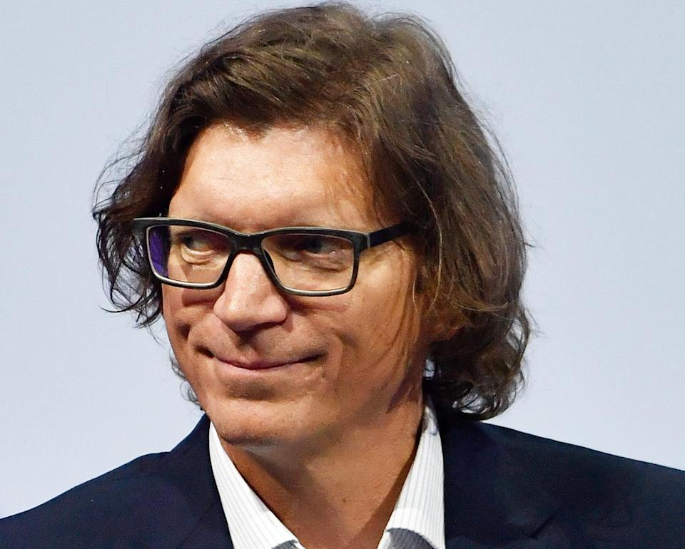 Money man: CEO and Founding Partner of Atomico and co-founder of Skype, Niklas Zennstrom, attends the VivaTech (Viva Technology) trade fair in Paris, on May 24, 2018. Photo: GERARD JULIEN/AFP/Getty Images
