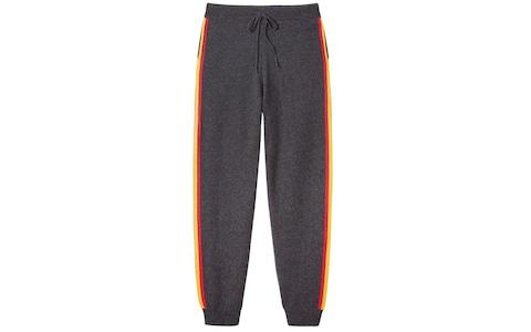Wyse London Lucie Rainbow Cashmere Joggers - Credit: Wyse