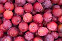 "<p>Plums have <a href=""https://www.ncbi.nlm.nih.gov/pubmed/26992121"" rel=""nofollow noopener"" target=""_blank"" data-ylk=""slk:been shown"" class=""link rapid-noclick-resp"">been shown</a> to have anti-inflammatory benefits that may help to boost <a href=""https://www.goodhousekeeping.com/health/diet-nutrition/g1370/foods-that-boost-brain-health/"" rel=""nofollow noopener"" target=""_blank"" data-ylk=""slk:cognition"" class=""link rapid-noclick-resp"">cognition</a>. Choose dried prunes for even more calcium and magnesium, which have been linked to decreasing your risk of <a href=""https://www.goodhousekeeping.com/health/diet-nutrition/a35340894/10-surprising-sources-of-calcium/"" rel=""nofollow noopener"" target=""_blank"" data-ylk=""slk:osteoporosis"" class=""link rapid-noclick-resp"">osteoporosis</a>. Or when you're grilling chicken or a steak, throw on some halved fresh plums—the heat intensifies their sweetness. </p>"