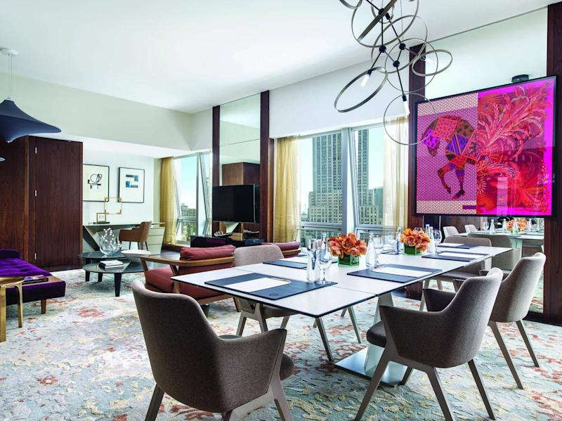 The Langham presidential suite is an art lover's dream (The Langham )