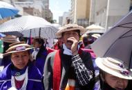 Demonstrations demanding government action continue, in Bogota