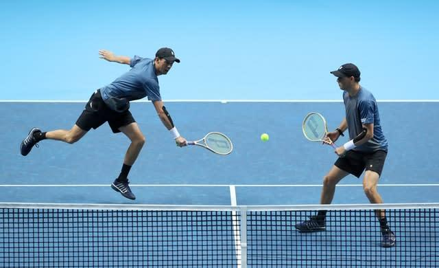 The Bryan brothers will bring the curtain down on their careers at this year's US Open (John Walton/PA)
