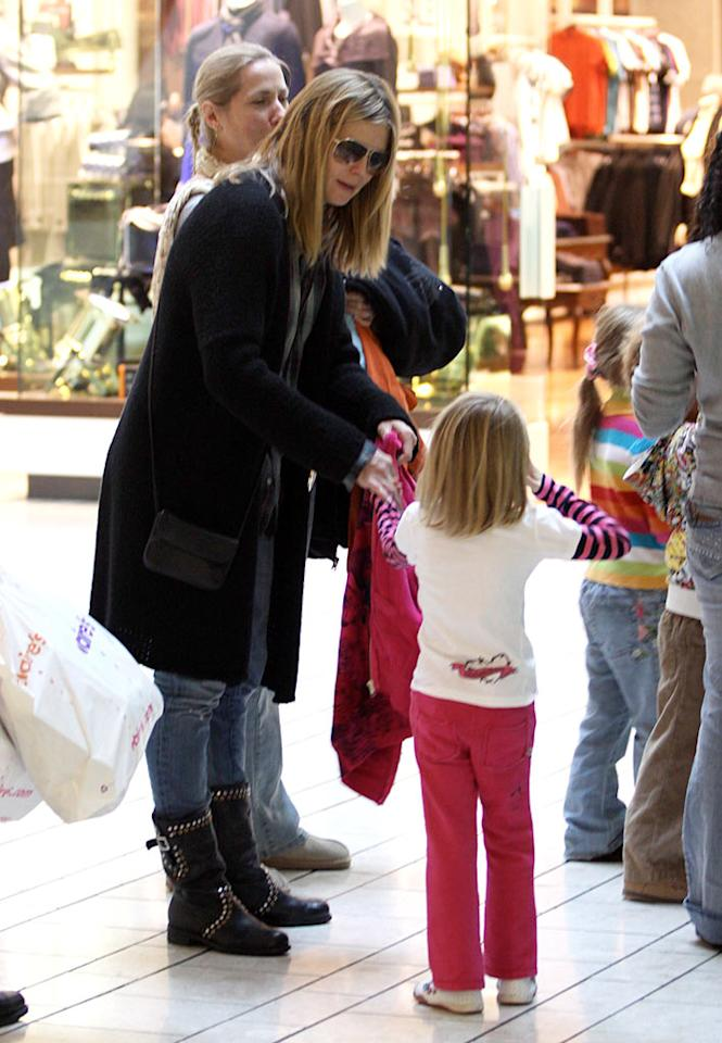 "Heidi Klum bravely hit up the Beverly Center for some pre-Christmas shopping with her three oldest kids, Leni (pictured), Henry, and Johan. Klum wisely left her littlest one, 2-month-old Lou at home, far from the Xmas shopping mall madness! IONU/<a href=""http://www.x17online.com"" target=""new"">X17 Online</a> - December 13, 2009"