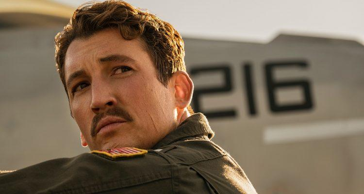 Miles Teller in Top Gun: Maverick trailer (Paramount)