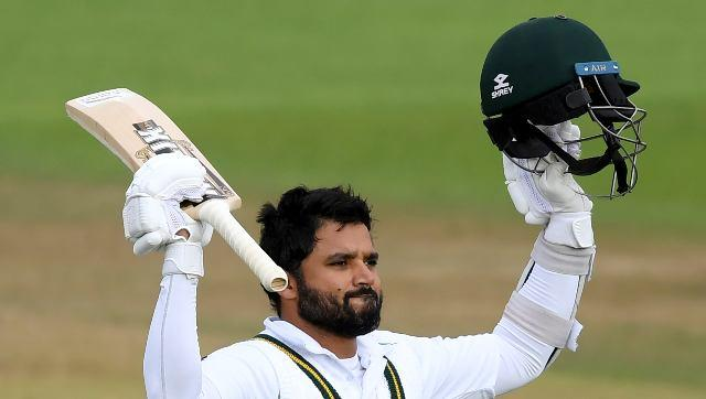 During visitors' reply, their desperation to keep themselves alive was made possible courtesy an unbeaten 141 from captain Azhar Ali. AP
