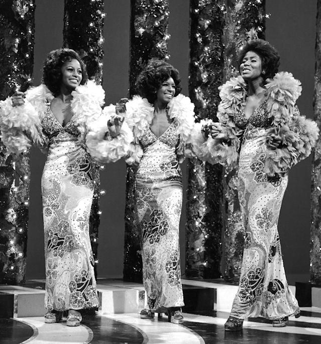<p>American group with the most No. 1 singles on the Hot 100 (12). Diana Ross went on to collect six more No. 1 hits as a solo artist. Only one other woman — Mariah Carey — has amassed 18 career No. 1 hits.(Photo: Archive Photos/Getty Images) </p>