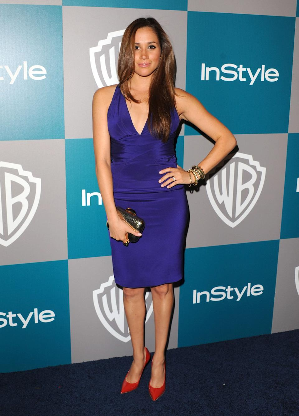 At the 13th Annual Warner Bros. and InStyle Golden Globe After Party held at The Beverly Hilton hotel in Beverly Hills, California.