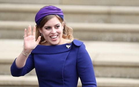 Princess Beatrice - Credit: Reuters