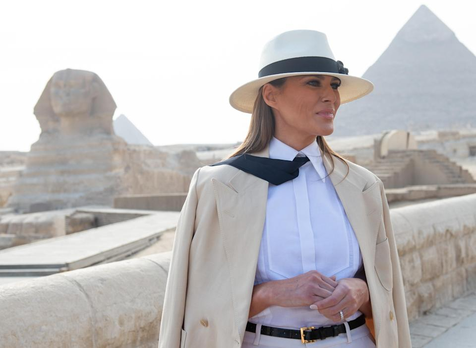 Melania Trump reportedly racked up nearly $100,000 in hotel bills in a single day. (Photo: Saul Loeb/AFP/Getty Images)