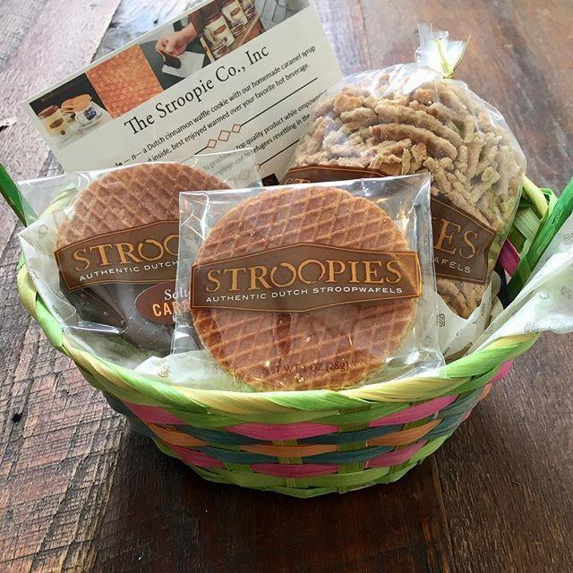 "<strong><h3><a href=""https://www.mouth.com/products/gluten-free-stroopwafels-stroopies#variant=360828273"" rel=""nofollow noopener"" target=""_blank"" data-ylk=""slk:Stroopies"" class=""link rapid-noclick-resp"">Stroopies</a></h3></strong><br>The Stroopwafel is a Dutch treat that this Lancaster, PA-based bakery dubs as, ""stroopies."" They're shipped via the delectable gourmet site <a href=""https://www.mouth.com/collections/gifts?ref=nav"" rel=""nofollow noopener"" target=""_blank"" data-ylk=""slk:Mouth"" class=""link rapid-noclick-resp"">Mouth</a> — which also has <a href=""https://www.mouth.com/collections/baked-goods-cookies"" rel=""nofollow noopener"" target=""_blank"" data-ylk=""slk:oodles of other local treats"" class=""link rapid-noclick-resp"">oodles of other local treats</a> to buy. But, back to those Stroopies: unwrap, pop them in the microwave for 10 seconds, and enjoy the heavenly gooey caramel goodness. Also available gluten-free!"