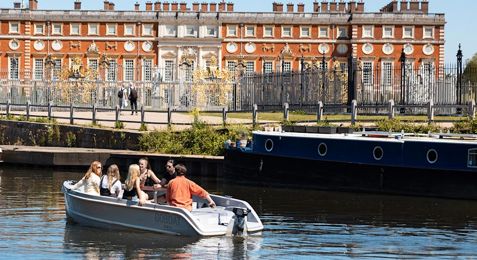 Charter your own boat, pack your picnic and explore some of London's scenic areas on the water.  (GoBoat)