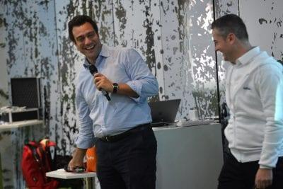 Pierre-Charles Grob CEO of D-Edge at a Singapore event source d-edge