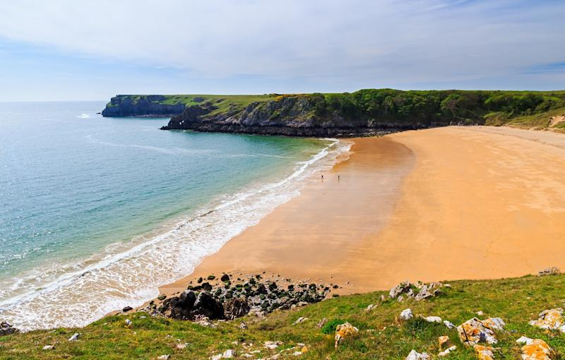 Barafundle Bay often tops the polls as Wales's finest beach - ian woolcock