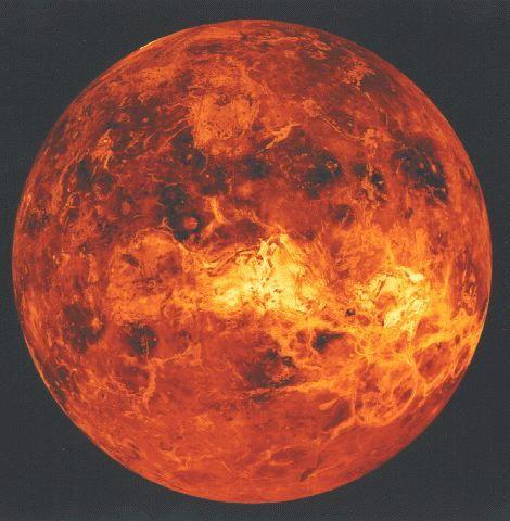 Atmosphere of Venus Has Strange Magnetic 'Ropes'