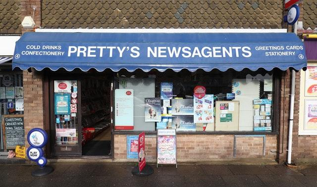 East Beach Post Office and Candy Store in Selsey, West Sussex