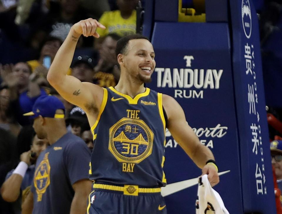 When it comes to shooting from deep, Steph Curry is peerless. (AP Photo)