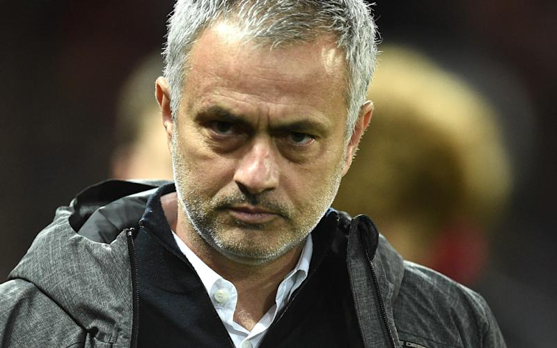 Jose Mourinho Manchester United manager - Credit: AFP