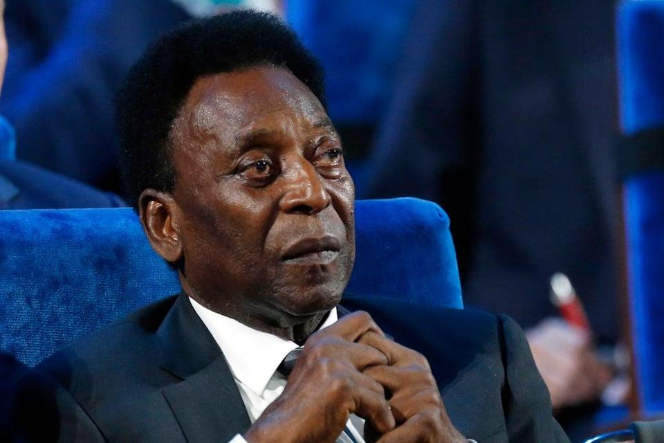Pele is recovering in hospital after the removal of a tumour from his colon  (AP)