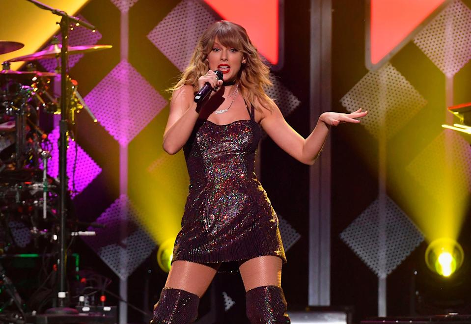 <p>Taylor Swift is changing the music industry and paving the way for new artists </p> (AFP/Getty)