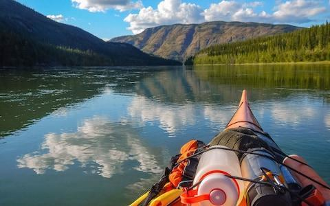 canoeing down a section of the Yukon - Credit: istock