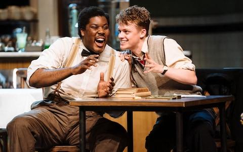 Hammed Animashaun and Anson Boon in 'Master Harold'... and the Boys - Credit: Helen Murray