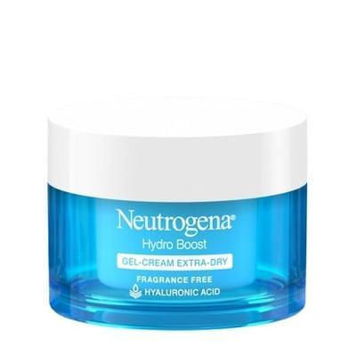 <p>This oil-free and fast-absorbing <span>Unscented Neutrogena Hydro Boost Hyaluronic Acid Gel Face Moisturizer</span> ($17) works on all skin types. It's lightweight but keeps hydration locked into your skin all day long.</p>