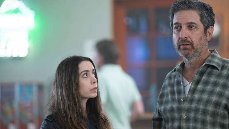 Cristin Milioti and Ray Romano in Made For Love