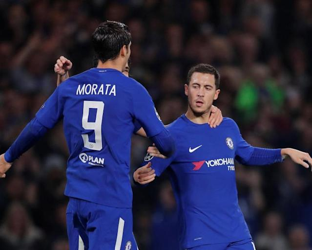 Alvaro Morata and Eden Hazard starting to show signs of clicking and it's time for the real Chelsea to stand up