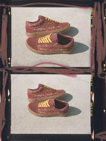 The Old Skool is given a punk-couture makeover as part of the Vans x Vivienne Westwood Anglomania collection
