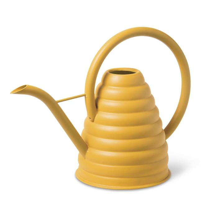 Bee Skep watering can from Gardener's Supply Company.