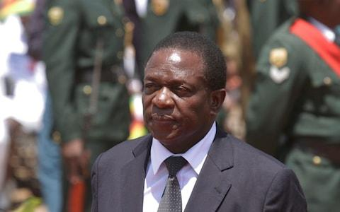 Emmerson Mnangagwa is expected to take over as president - Credit: Tsvangirayi Mukwazhi/ AP