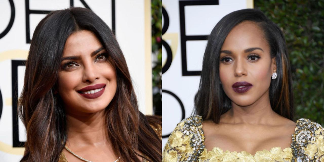 picture Best hair and make-up at the Golden Globes 2019