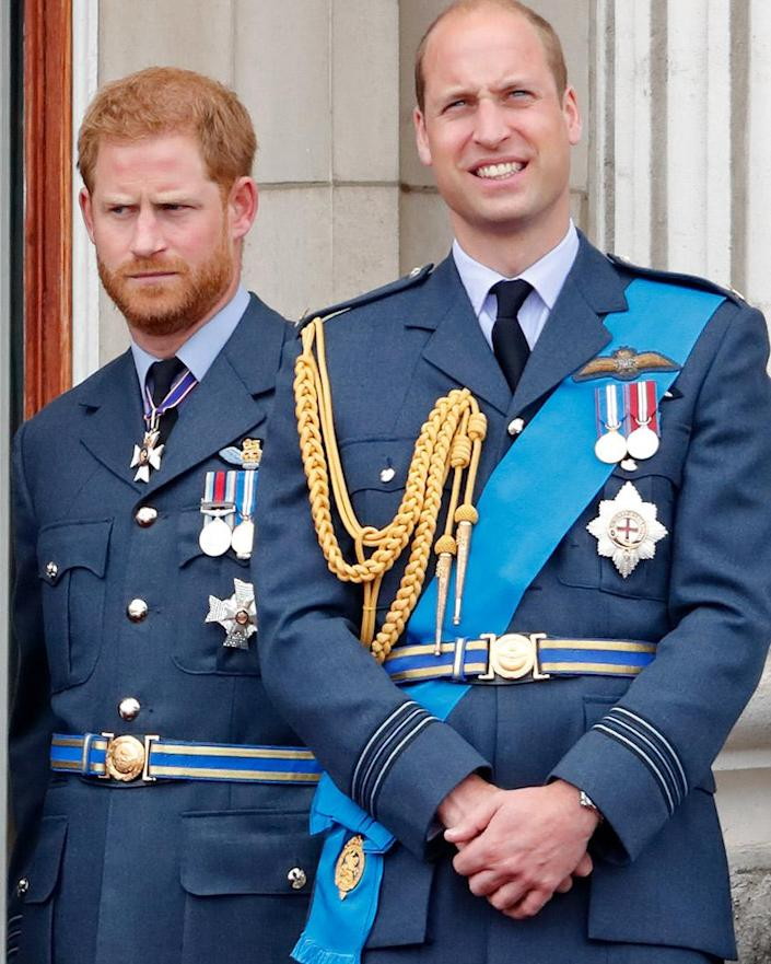 They used to lean on each other for everything, but now that they're married, Harry and William are going their separate ways. Photo: Getty