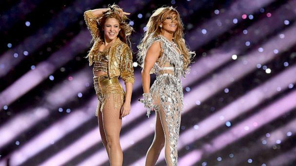 PHOTO: MIShakira and Jennifer Lopez perform onstage during the Pepsi Super Bowl LIV Halftime Show at Hard Rock Stadium on Feb. 02, 2020, in Miami. (Kevin Winter/Getty Images)