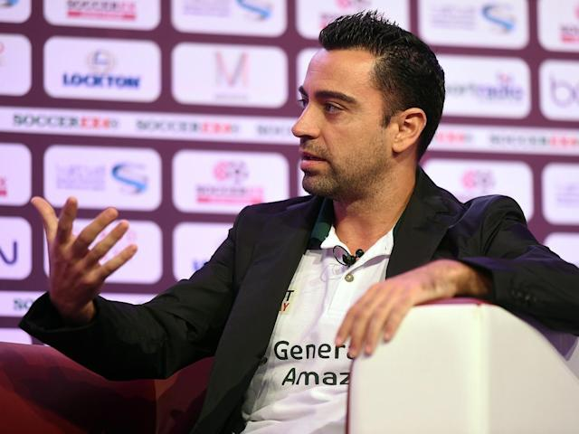 Xavi currently plays for Qatari club Al Sadd (Getty)