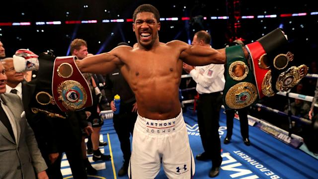 Anthony Joshua's main priority remains an undisputed title fight with fellow unbeaten heavyweight Deontay Wilder, according to Eddie Hearn.