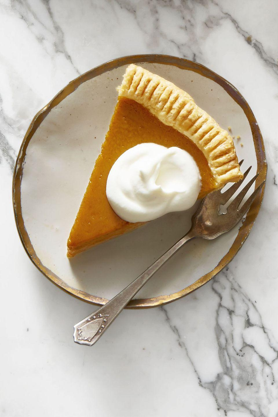 "<p>Pumpkin pie is Thanksgiving's secret weapon — and we're going to go ahead and say it: This is the best (and only) pumpkin pie recipe you'll need this fall.</p><p><em><a href=""https://www.goodhousekeeping.com/food-recipes/dessert/a46627/pumpkin-pie-with-maple-whipped-cream-recipe/"" rel=""nofollow noopener"" target=""_blank"" data-ylk=""slk:Get the recipe for Pumpkin Pie with Maple Whipped Cream »"" class=""link rapid-noclick-resp"">Get the recipe for Pumpkin Pie with Maple Whipped Cream »</a></em></p><p><strong>RELATED: </strong><a href=""https://www.goodhousekeeping.com/food-recipes/g3986/pumpkin-pie-recipes/"" rel=""nofollow noopener"" target=""_blank"" data-ylk=""slk:20 Best Pumpkin Pie Recipes to Finish Your Holiday Meal Strong"" class=""link rapid-noclick-resp"">20 Best Pumpkin Pie Recipes to Finish Your Holiday Meal Strong</a></p>"