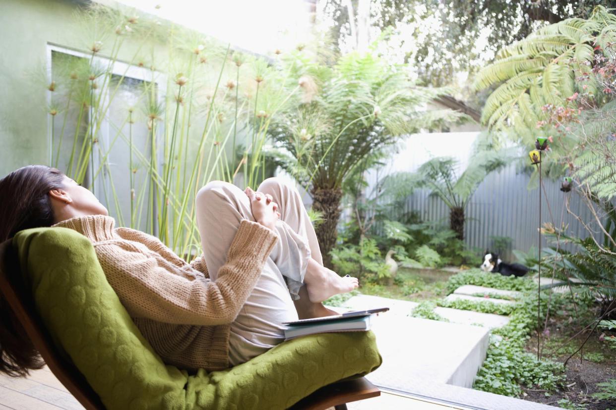 Gardens can add up to 5% to property values, new research reveals. (Getty Images)