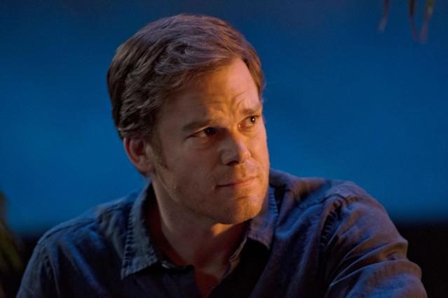 "Michael C. Hall as Dexter Morgan in the ""Dexter"" Season 8 episode, ""Make Your Own Kind of Music."""
