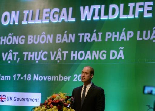 Prince William in Vietnam issues dire warning on animal extinction