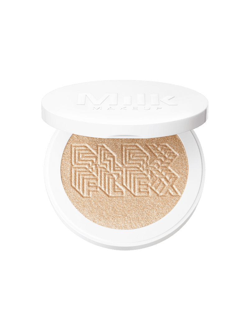 <p>For a silky pressed-powder highlighter, try the <span>Milk Makeup Flex Highlighter</span> ($28). It's packed with pearlescent pigments to really make your skin glow.</p>