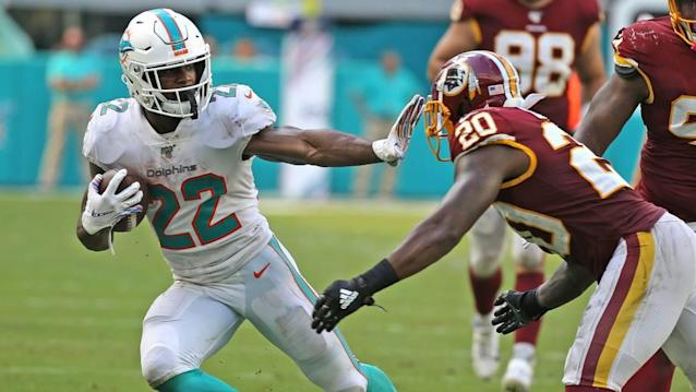 Dolphins' Mark Walton goes from 'down low' and in 'desperate times' to first NFL start