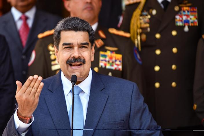 Venezuelan officials said they had thwarted a predawn invasion aimed at killing Maduro: Getty