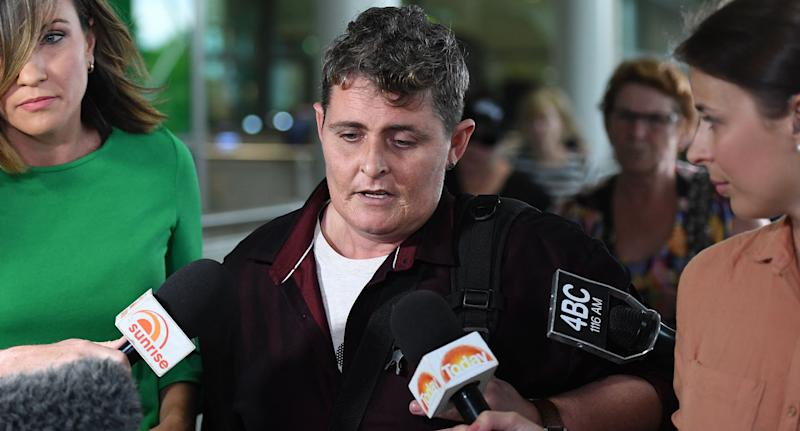 Bali Nine drug mule Renae Lawrence back on home soil