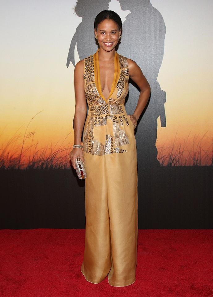 """<a href=""""http://movies.yahoo.com/movie/contributor/1805537023"""">Joy Bryant</a> at the MoMa Film benefit gala honoring Baz Luhrmann in New York - 11/10/2008"""