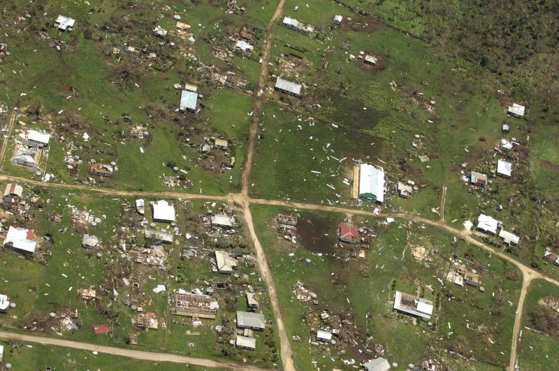 Hundreds of homes lost in Tonga storm that kills 1