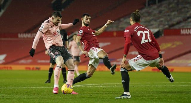 Oliver Burke fired Sheffield United to an unlikely win on Wednesday
