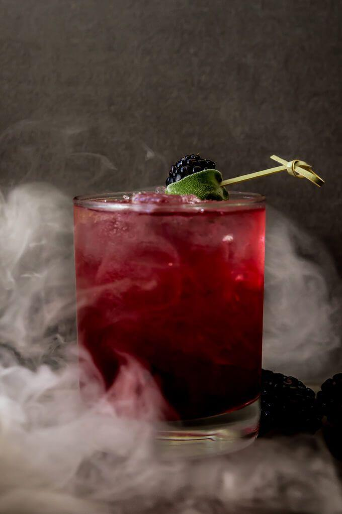 "<p>Light some sage on fire to give this drink a smoky finish, if you feel so inclined.</p><p><a href=""http://www.wickedspatula.com/blackberry-sage-margarita/"" rel=""nofollow noopener"" target=""_blank"" data-ylk=""slk:Get the recipe from Wicked Spatula »"" class=""link rapid-noclick-resp""><em>Get the recipe from Wicked Spatula »</em></a><br></p>"