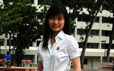 New candidate Tin Pei Ling clears the air over private photos, rumors. (Yahoo! Photo)